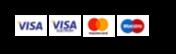 Kreditkort logoer
